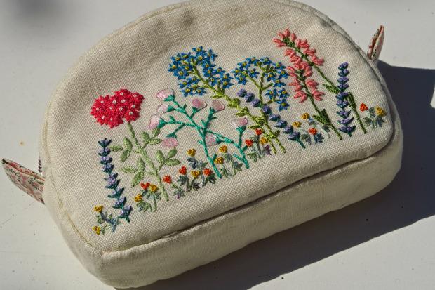 Pochette fleurie... la suivante