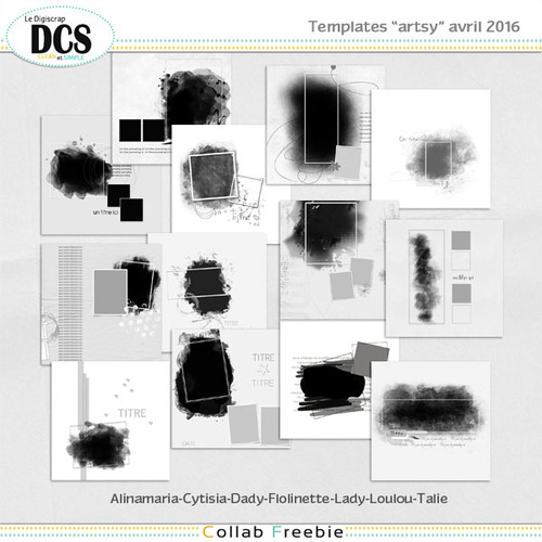 DCS: Les templates d'Avril