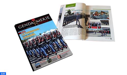 57ème numéro de la revue de la Gendarmerie Royale