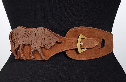 Schiaparelli belt ca. 1938