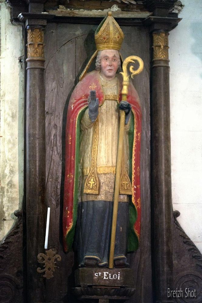 Saint-Éloi, chapelle de Saint-Éloi - Guilligoamarc'h