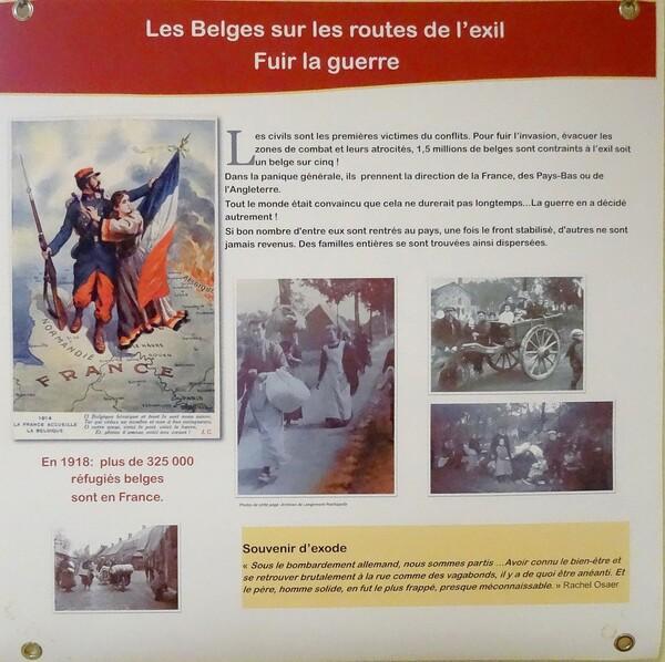 Une nouvelle exposition sur les Flamands dans le Châtillonnais s'est tenue à Brion sur Pource