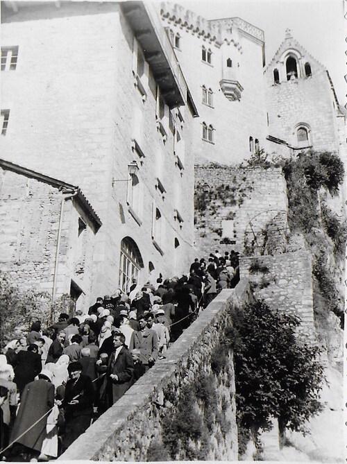 De l'art de monter les escaliers à Rocamadour