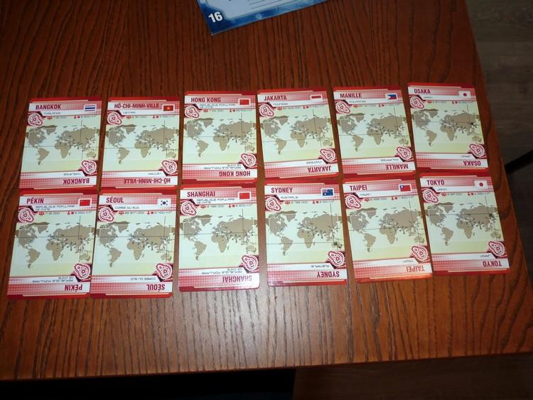 Cartes rouges