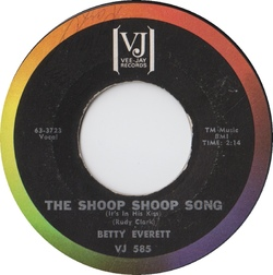 Betty Everett : Shoop Shoop Song (1964)