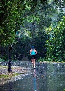 Conseils pour courir sur la pluie