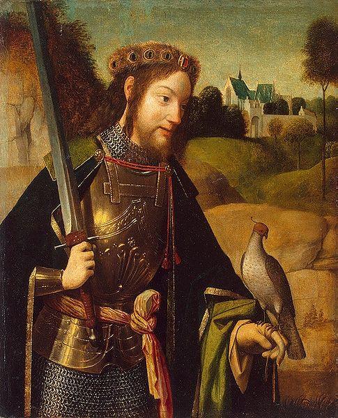 Saint Bavon. Ermite à Gand († 659)