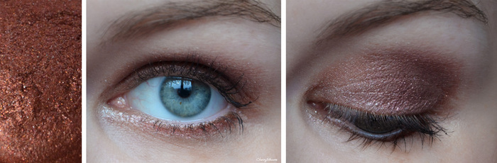 Make up : Cosmic eyes !
