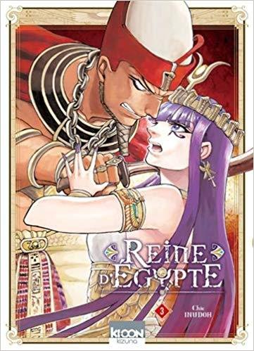 Manga - Reine d'Egypte, tome 3