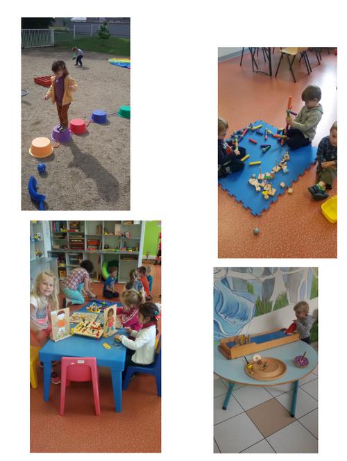 Dernière séance à la ludothèque pour les petits
