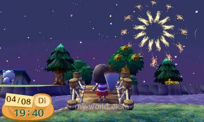 soirée des feux d'artifices