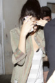 CANDIDS : Selena et Justin à Benihana restaurant japonais
