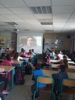 Témoignage à l'école primaire de Ste Marie à Vern d'Anjou 31/03/17