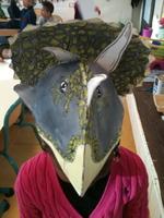 Les casques dinosaures !