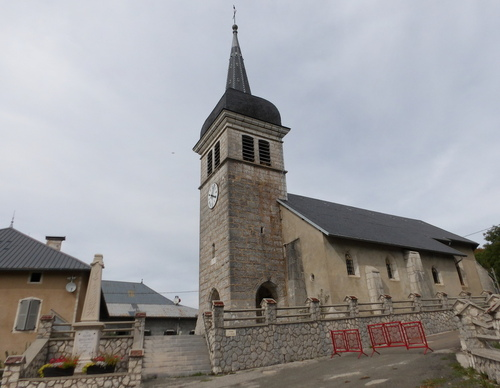 L'église du Grand Abergement