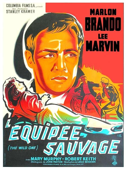 L'EQUIPEE SAUVAGE - BOX OFFICE MARLON BRANDO 1958
