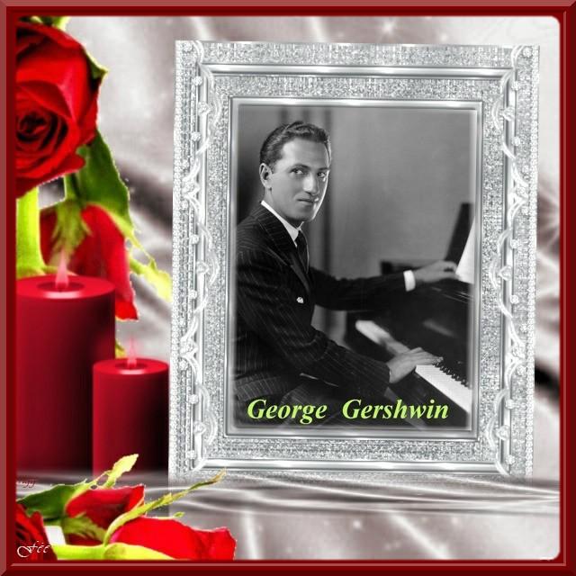 """George Gerschwin """"Rhapsody in bleu"""" & Embraceable You"""