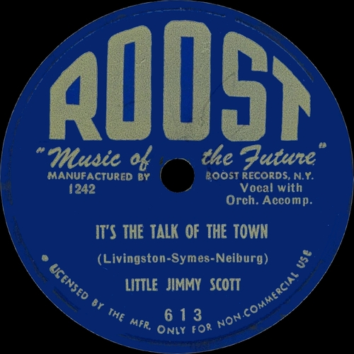 "Jimmy Scott : CD "" The Jimmy Scott Singles : 1950-1952 "" Soul Bag Records DP 101 [ FR ]"
