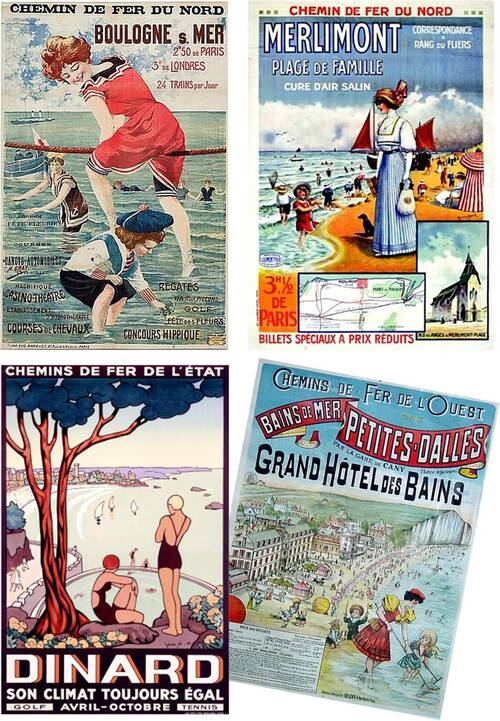Nos Plages ( affiches )