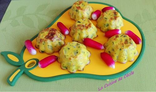 Clafoutis courgettes-parmesan