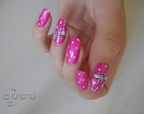 Nail Art Octobre Rose 2014