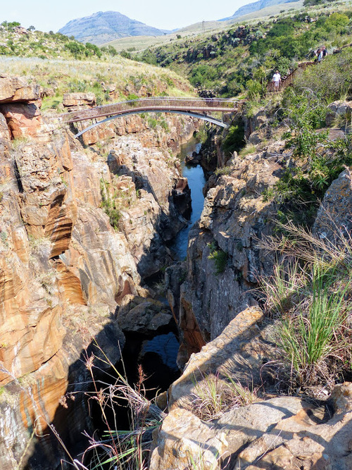 Blyde River Canyon Nature Reserve; Bourke's Luck Potholes