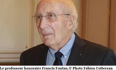 Le professeur Francis Fontan célébré par ses pairs