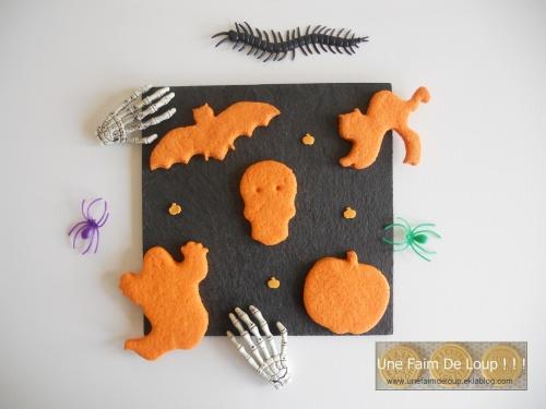 Sablés d'Halloween à l'orange