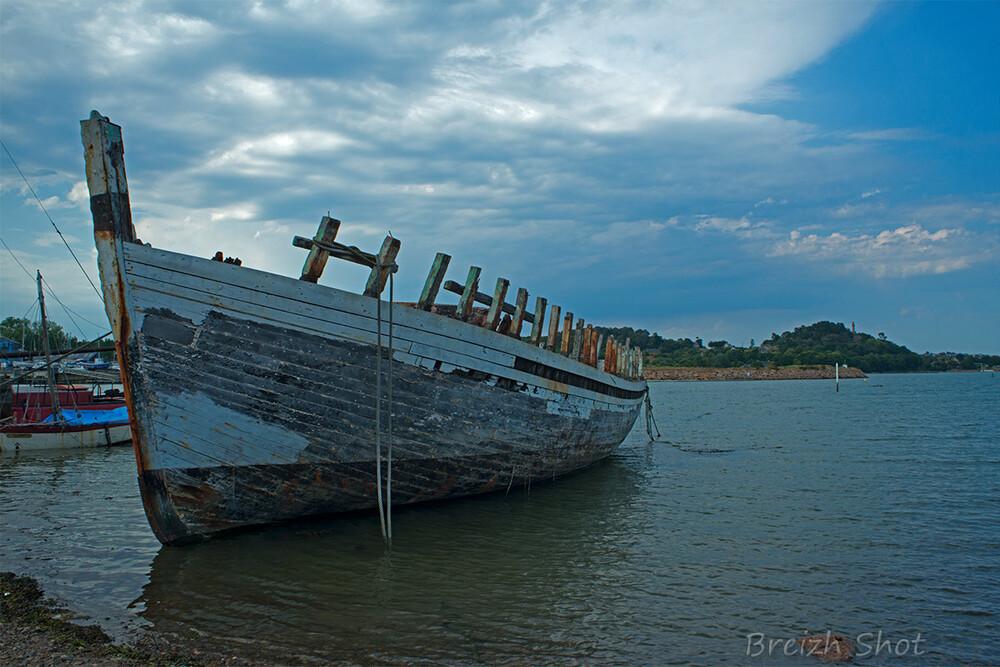 Avant port de Paimpol - Refuge- cimetière à bateaux