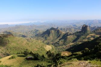Premiers pas dans le massif du Simien, Ethiopie