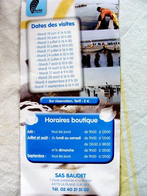Moules de Bouchot la Plaine sur Mer ...