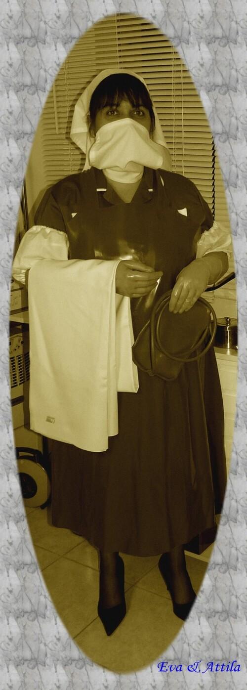 Nurse Eva à travers les époques (2)