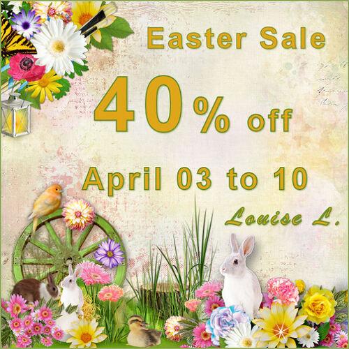 Solde pour Pâques
