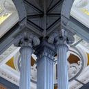 Pilier, chapiteaux et plafond (2)