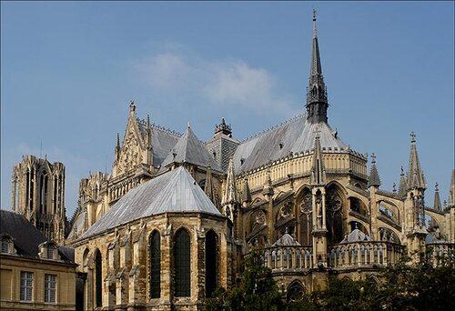 6 mai 1211 : début de la construction de la Cathédrale de Reims
