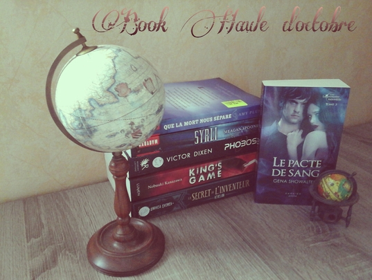 Book Haul : Octobre 2015