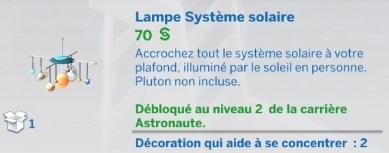 Lampe Système solaire