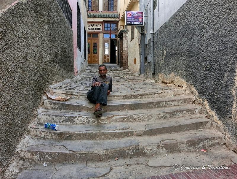Dans les ruelles de la Médina