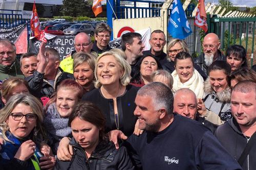 L'élection présidentielle  et le cas Marine Le Pen