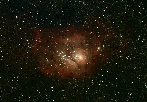 2012-07-26 : Nébuleuses de la Lagune et Trifide M8 et M20