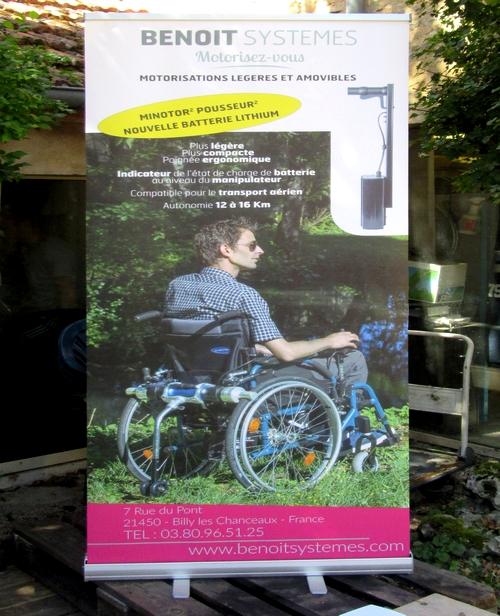 """""""Benoit Systèmes"""", une entreprise châtillonnaise innovante dans le marché du fauteuil roulant"""