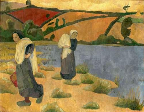 Leçon de peinture en Bretagne