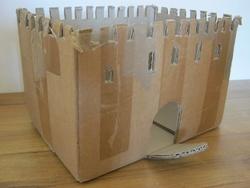 Château en carton...