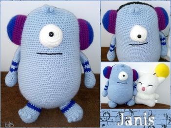 Janis, mon premier amigurumi