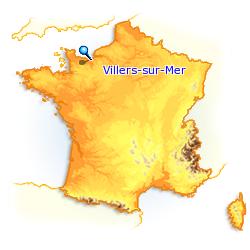 * La CÔTE FLEURIE.-N°3* - VILLIERS S/MER.*