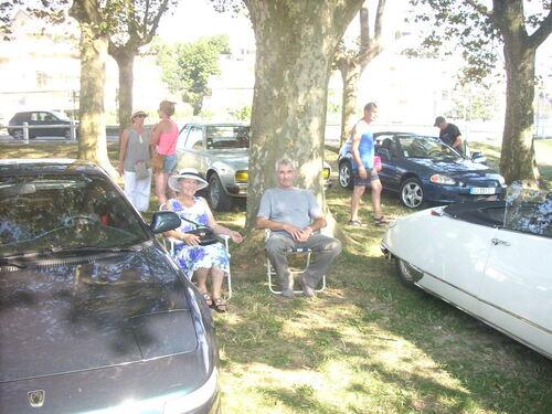 Notre stand à Aix Auto Légende