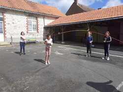 Visite de Cornillette aux élèves de CM B