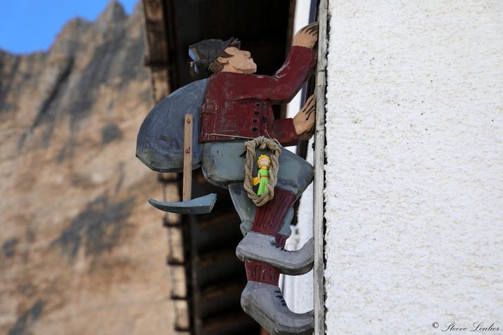 Le Petit Prince dans les Dolomites, refuge Giussani, Italie 2020