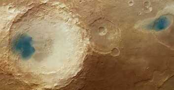 Mysterious Blue Pools Dot the Surface of Mars