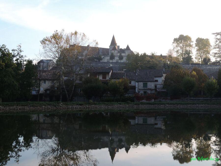 l'église Saint Etienne de Lauzun (47)